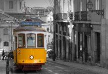 Лиссабон, трамвай №28