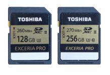 Toshiba EXCERIA™ PRO SD N101 128 Гб и N501 256 Гб
