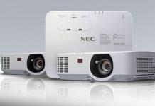 три новых проектора NEC P-серии