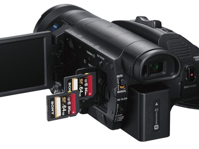 Sony Handycam® FDR-AX700 с поддержкой 4K HDR