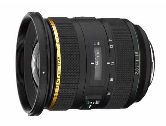 Pentax HD PENTAX-DA★11-18mm f/2.8