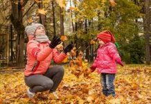 Идеи осенней фотосессии с ребенком