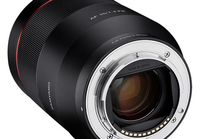 Автофокусный Samyang AF 35mm F1.4 FE для Sony E