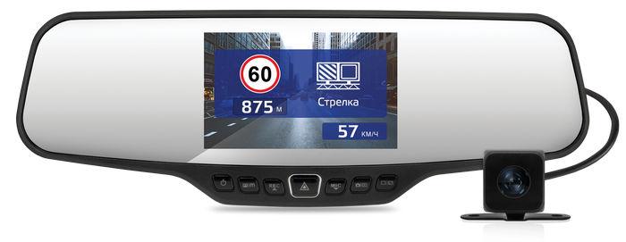 Смарт-зеркало Neoline G-Tech X27 с двумя камерами