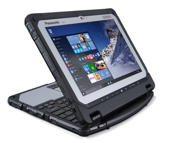 Panasonic Toughbook CF-20 mk2 - новое поколение защищенных ноутбуков