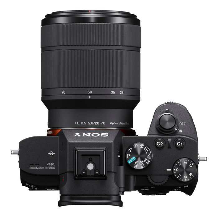 Новая беззеркальная камера SonyA7 III (модель ILCE-7M3)