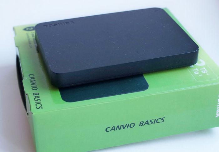 Toshiba Canvio Basics 2 ТБ