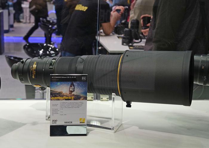 Объектив Nikon 500mm f/4E FL ED VR AF-S Nikkor