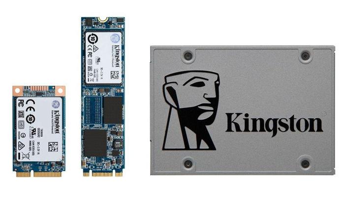 Kingston UV500 - новая линейка SSD-накопителей