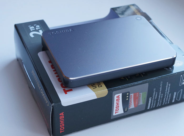 Canvio premium - упаковка