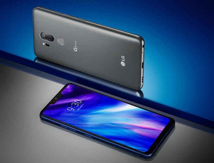 LG Electronics (LG) представила смартфон LG G7 ThinQ