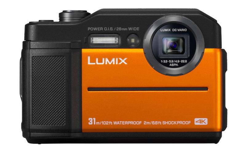 Экшн-камера Panasonic Lumix DC-FT7 с электронным видоискателем