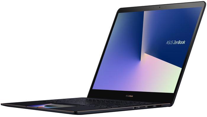 Представлены ASUS ZenBook Pro 15 (UX580) и ZenBook Pro 14 (UX480) с дополнительным дисплеем ScreenPad