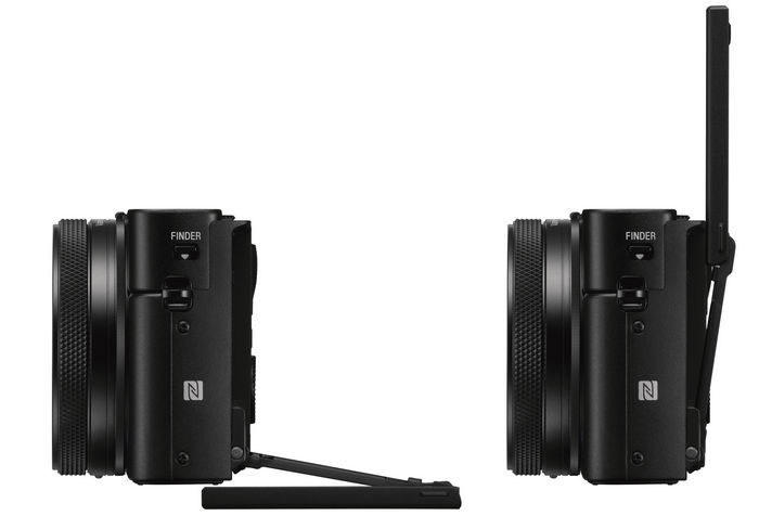 sony-RX100M6 поворот дисплея