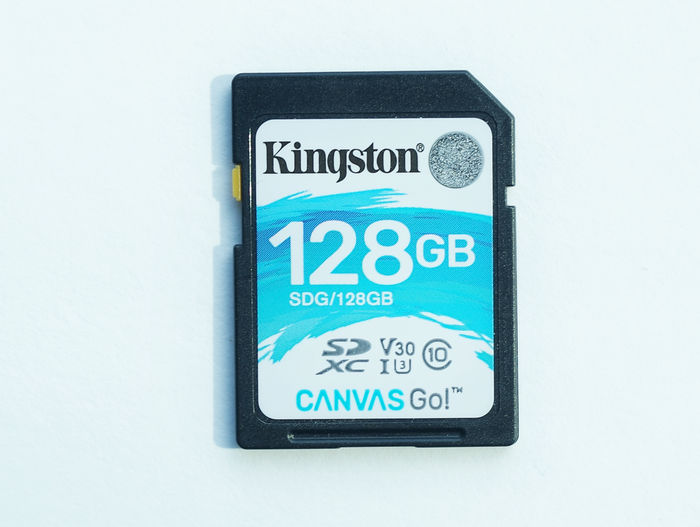 Kingston SD Canvas Go!™ 128 Гб
