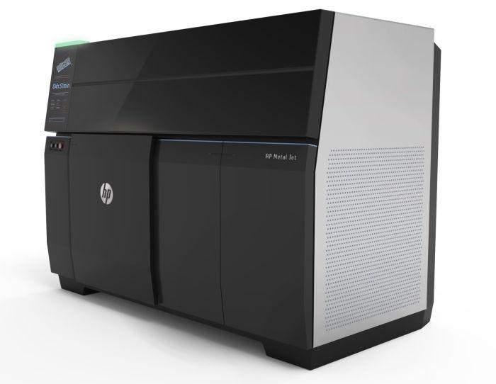 HP Metal Jet - технология 3D-печати металлических изделий