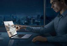 Huawei MateBook X Pro touchpad