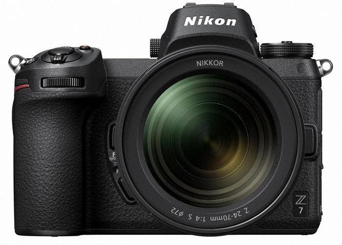 Nikon Z7 и объектив 24-70