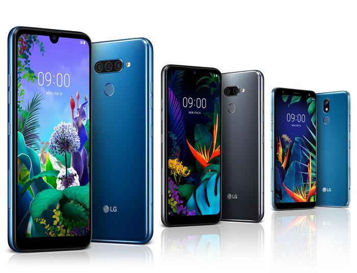 LG Q60, LG K50 и LG K40