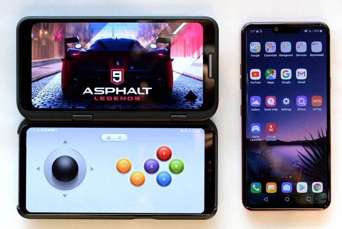 LG представила смартфоны LG V50ThinQ и LG G8ThinQ