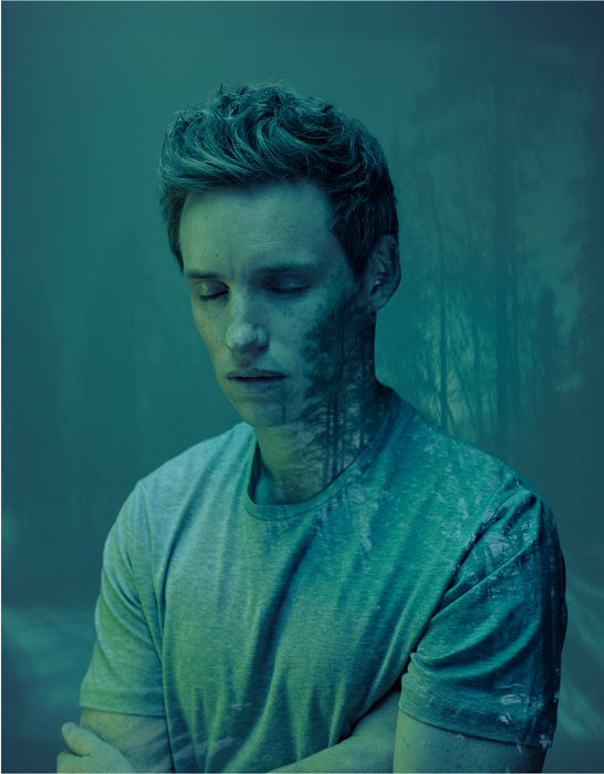 Copyright: © Nadav Kander, Eddie Redmayne (Forest), 2016. Courtesy of Flowers Gallery