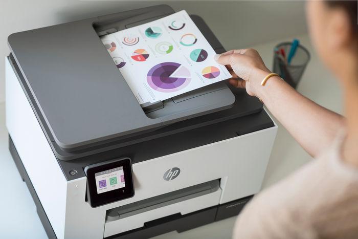 HP представила новую линейку принтеров для малого бизнеса