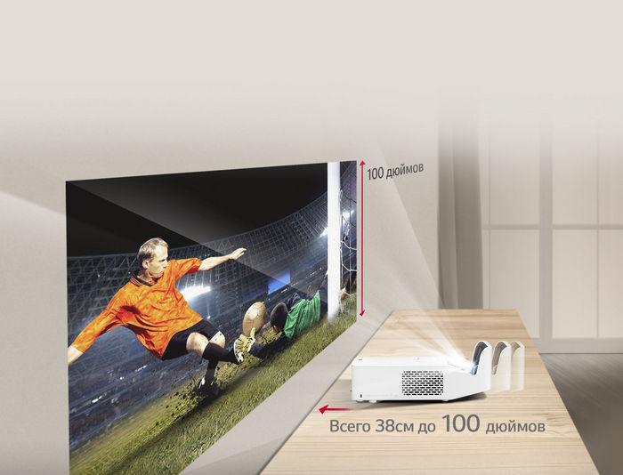 Светодиодные проекторы LG CineBeam HF60LSR и HF65LSR