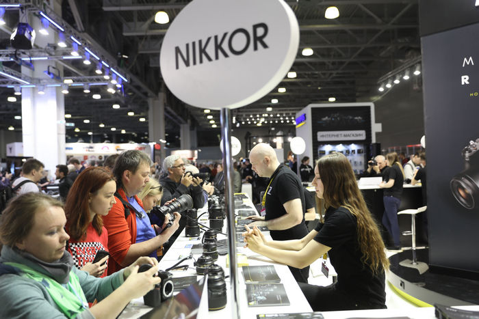 Стенд Nikon