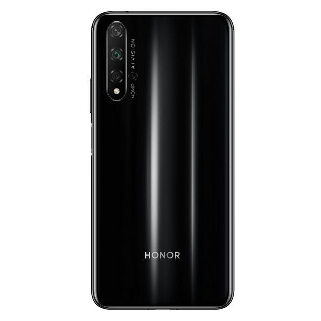 Смартфон HONOR 20 - основная 48 МП камера с четырьмя модулями
