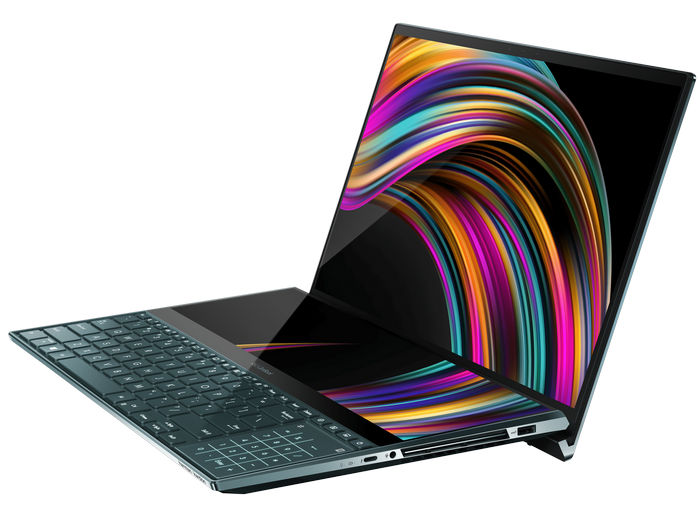"""ASUS ZenBook Pro Duo (UX581) с 14"""" дополнительным экраном ScreenPad™ Plus"""
