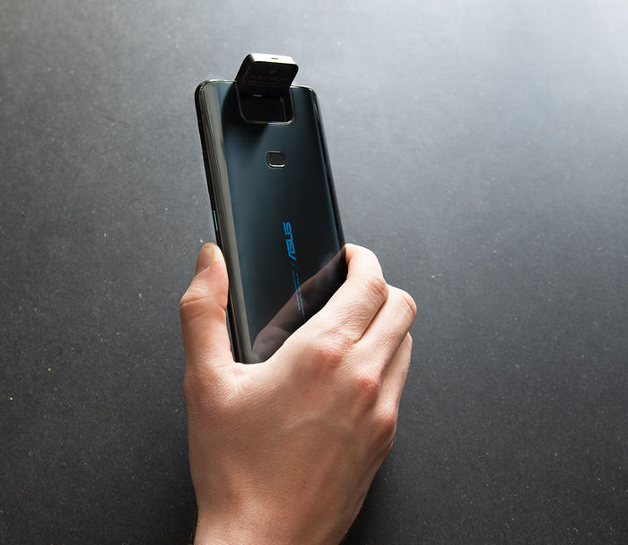 ASUS ZenFone 6 привод камеры