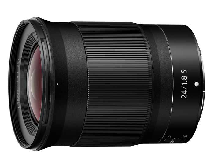 Nikon представила объектив NIKKOR Z 24mm f/1.8 S