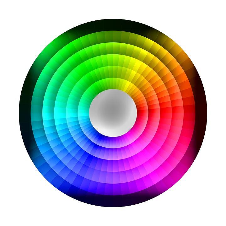 Спектр цветов