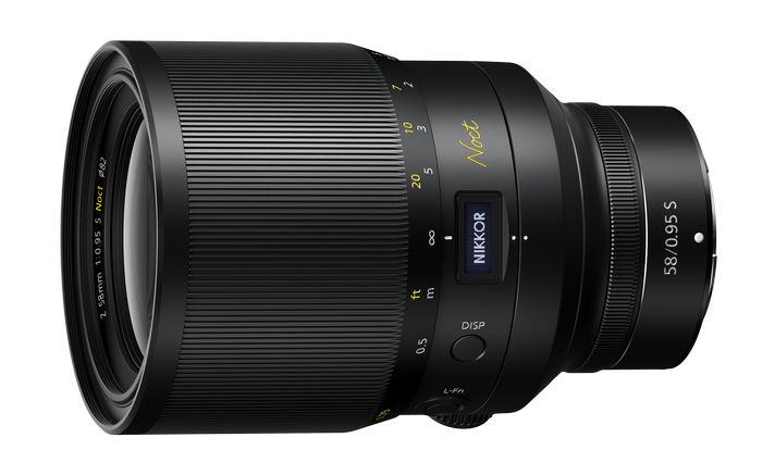 объектив NIKKOR Z 58mm f/0.95 S Noct