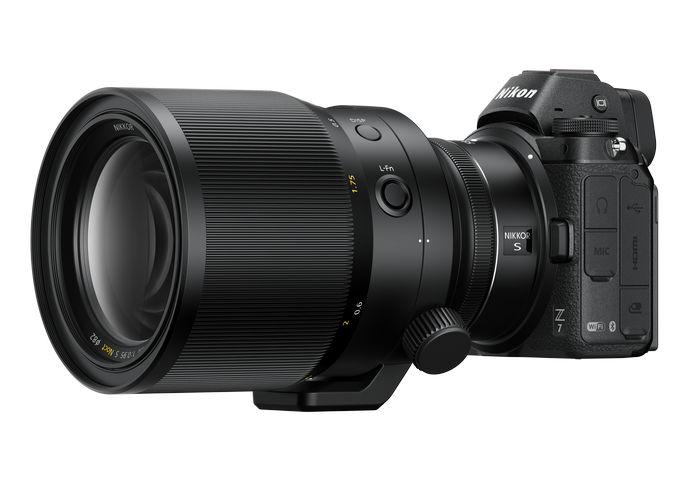объектив NIKKOR Z 58mm f/0.95 S Noct + cam