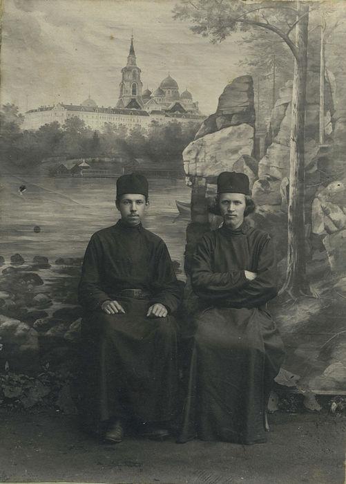 Отпечатки Валаамской фотомастерской. Из собрания Виктора Штульмана