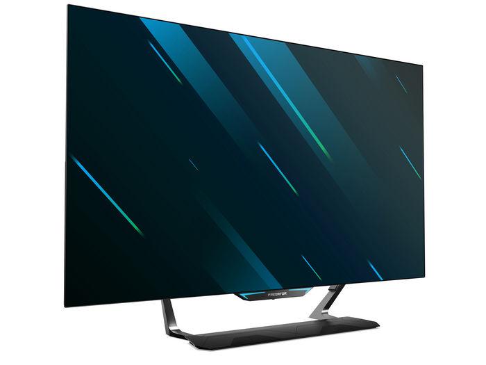 Predator CG552K: огромный экран UHD