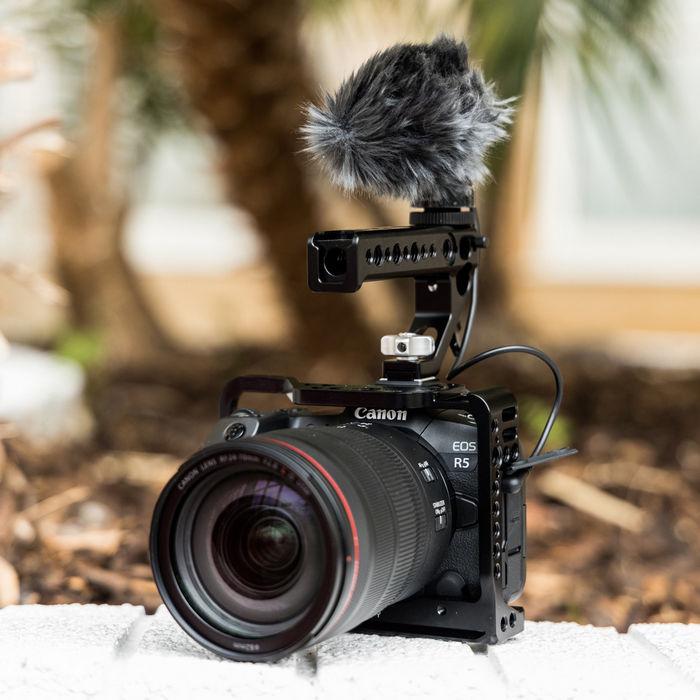 Немного новой информации о Canon EOS R5