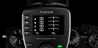 FUJIFILM EF-W1 - view