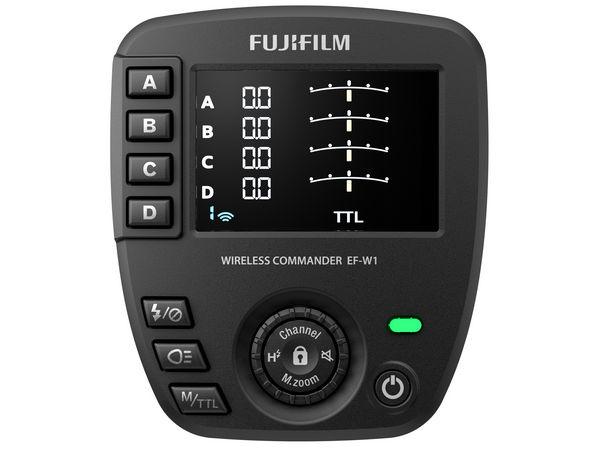 FUJIFILM EF-W1 - управление