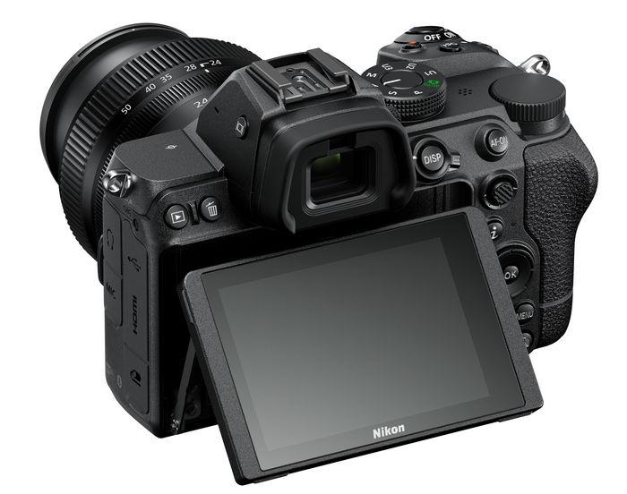 NikonZ5 - дисплей