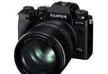 FUJINON XF50mmF1.0 R WR на x-t4