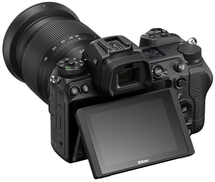 Nikon Z 6II - дисплей