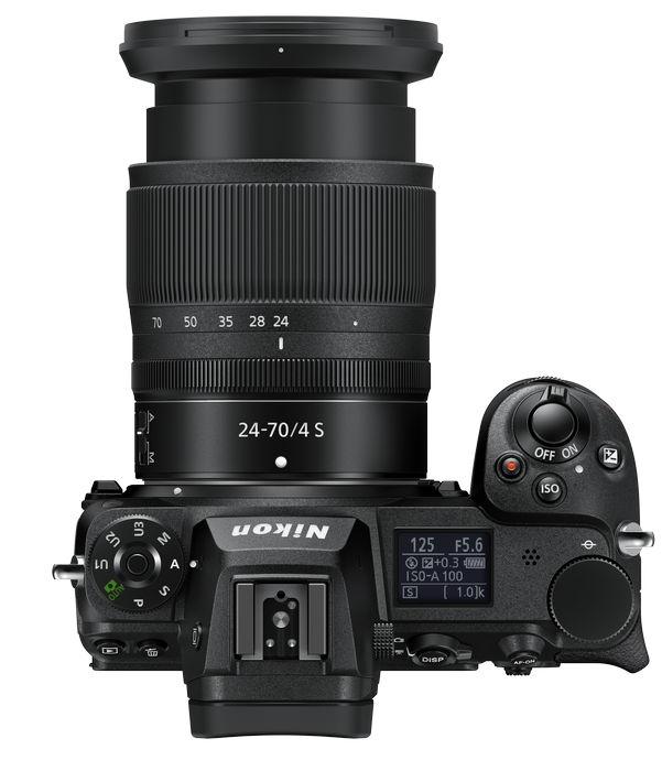 Nikon Z 6II - управление
