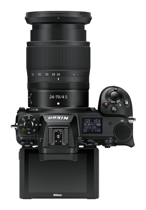 Nikon Z 7II - управление