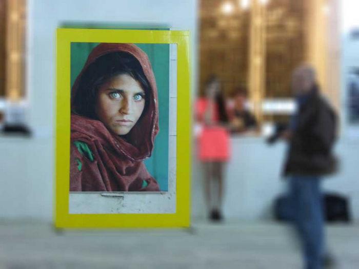 Афганская девочка, Стив МакКарри