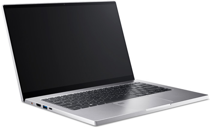 Ноутбук Porsche Design Acer Book RS - слева