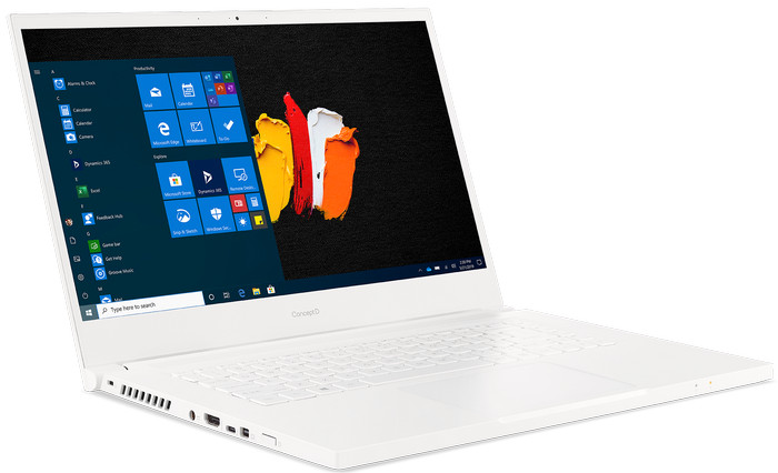 14-дюймовый Acer ConceptD 314 - слева