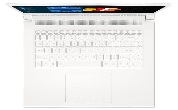 14-дюймовый Acer ConceptD 314 - клавиатура