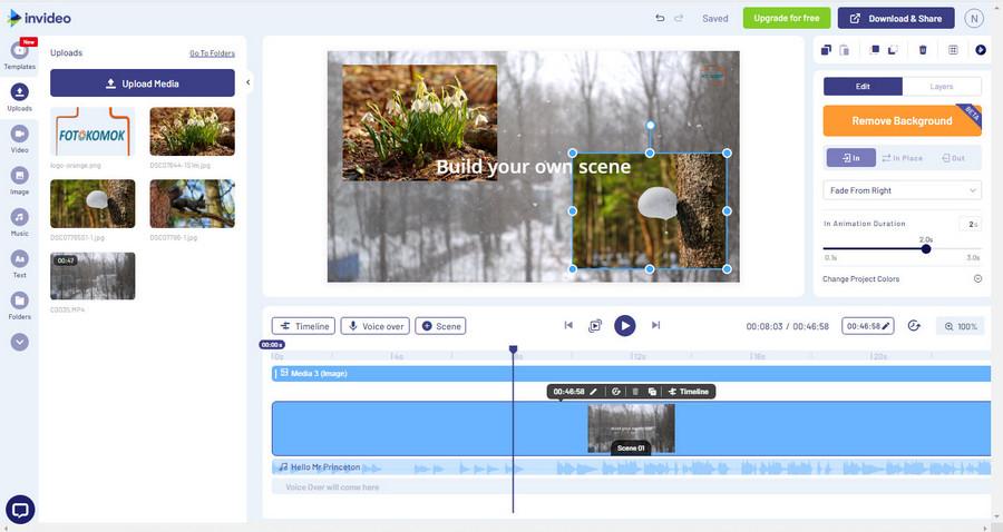 Обзор онлайн-платформы для создания видео InVideo